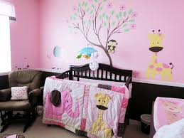Black Baby Girl Nursery Themes Ideas Wooden Sample Pink Purple Animal  Giraffe Themes Beautiful Spectacular