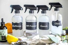 homemade bathroom cleaner this homemade bathroom cleaner with vinegar baking soda soap and essential oils is