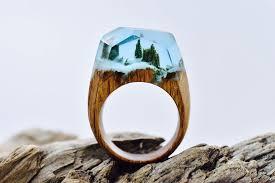 miniature scenes rings secret forest 15