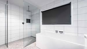 freflo frameless shower screen glass panels walk in bathroom ensuite shower grovedale