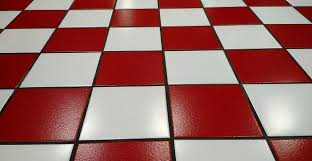 ceramic tiles with red and white for house floor hard floor types in flooring options for types of floor materials