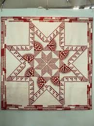 221 best Feathered Star Quilts images on Pinterest   Star quilts ... & Feathered Star quilt with the