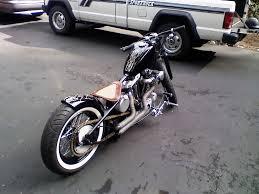 davidson flat bar bobber motorcycle