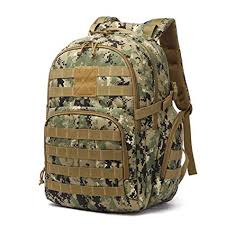 MSCD <b>New Outdoor</b> Camouflage <b>Mountaineering Bag</b> 40L <b>Hiking</b> ...