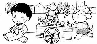 空き缶集めイラストなら小学校幼稚園向け保育園向け自治会pta