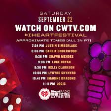 are you guys hyped for the iheartfestival tonight