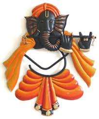 Small Picture Buy Beautiful Ganesha Wall Hanging wall art online Splendid