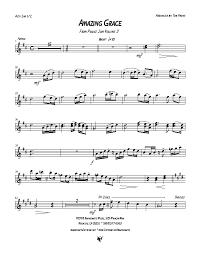 Barncharts Amazing Grace Part Samples