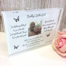 daddy s little girl frame block or plaque