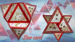 Diy Star Fold Card Fancy Fold Card By Artvilla