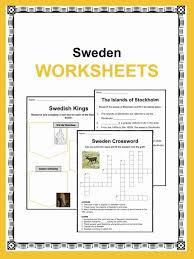 Sweden Facts, Worksheets & Historic Information For Kids