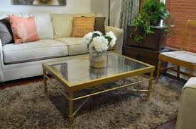 gold mirror coffee table gold and mirror coffee table