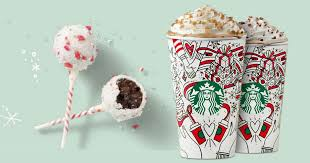 Starbucks Bogo Free Holiday Drinks Cake Pops Daily Deals Coupons