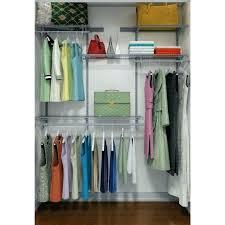 closetmaid organizer closet kit 5 8 ft 1628 shelf hanging full elegant to