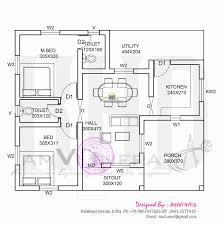 80 square meters house floor plan unique 3 bedroom house plan indian style free house plans