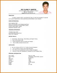 Job Application Resume Format New Resume Format Free Download Doc Latest In Ms Word For Teachers 23