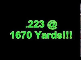 Tiborasaurusrex Charts 223 1670 Yards Extreme Long Range Shooting