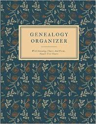 Genealogy Organizer With Genealogy Charts And Forms Family