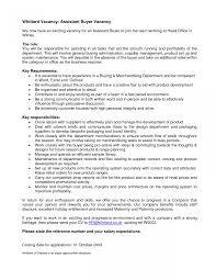 Buyer Sample Resume Retail Buyer Job Description Template Free For Resume Stocker 11