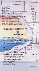The restaurant information including the sunrise coffee menu items and prices may have been modified since the last website update. Online Menu Of Sunrise Cafe Restaurant Ormond Beach Florida 32174 Zmenu