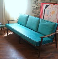 VINTAGE DANISH MODERN Sofa Lovely 1950s Mid Century Modern