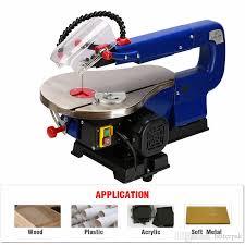 2019 mq5ii 16inch scroll saw rcidos mini table saw desktop diy wood curve cutting machine plastic acrylic cutter 220v from betterpak 10 06 dhgate com