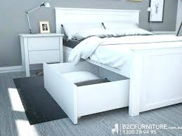 Bed base with drawers Homemade Full Size Of White Queen Bed Base With Storage Frame Drawers Home Improvement Magnificent The Most Walkcase Decorating Ideas White Queen Bed Base With Storage Drawers Frame Low Wood Slats Size