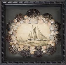 ... Delightful Pictures Of Shells Shadow Box For Wall Decoration Design  Ideas : Endearing Image Of Boat ...