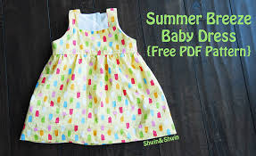 Baby Dress Patterns Unique Summer Breeze Baby Dress Free PDF Pattern Shwin And Shwin