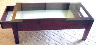 Glass Top Display Case Coffee Table Home Design Ideas