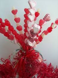 valentines office ideas. valentine candy skewer bouquetgreat for office school or any party valentines ideas