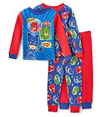 sleepwear boys sizes baby kids bon ton disney boys 2t 4t 4 piece pj masks pajamas