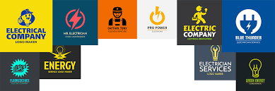These - Logos With Electrician Placeit Your Light Up Blog Business