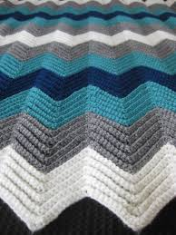 Chevron Crochet Blanket Pattern Fascinating Chevron Afghan 48 Mishell Soup
