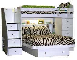 twin over full bunk bed with stairs. Loft Bed With Chest And Stairs. Berg Sierra Space Saver Twin Over Full Bunk Stairs O