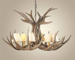 deer horn chandelier the aquaria with regard to contemporary residence antlers chandeliers ideas