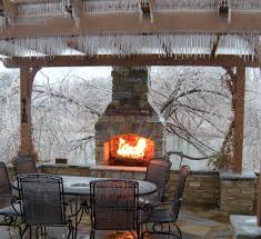 outdoor wood burning fireplace canada outdoor fireplaces projects hedberg landscape and masonry on com guide gear