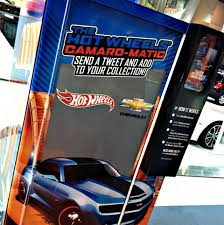 Vending Machine Show Mesmerizing Hot Wheels Builds TweetPowered Vending Machine Digiday