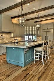 Kitchen: Industrial Rustic Kitchen With Wood Accents - Rustic Kitchen