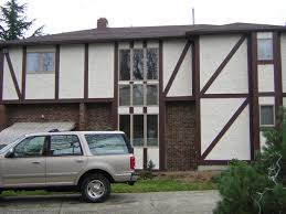 exterior house painting new jersey. after: clean paint job painted tudor house exterior painting new jersey e