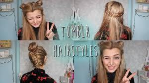 Braids Hairstyles Tumblr Tumblr Inspired Hairstyles Youtube
