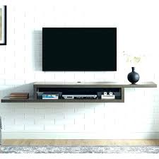 tv box wall mount wall tv wall mount with cable box holder behind