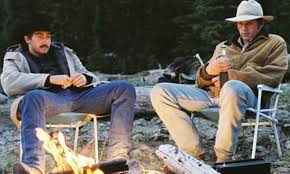 brokeback mountain analysis technical brilliance iconic character jake gyllenhaal heath ledger brokeback mountain campfire
