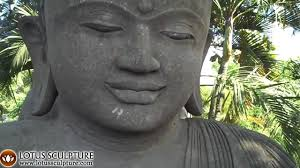 Large Meditating Garden Buddha Statue Stone Sculpture  YouTube