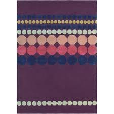 ted baker barren deep purple rug