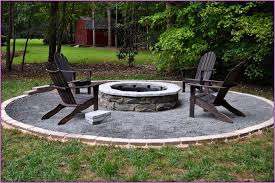 backyard fire pit landscaping ideas small large
