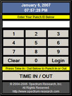 Employee Time Clock Calculator Time Card Calculator Software