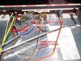 3 way refrigerator new thermocouple installation