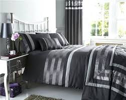 satin duvet cover bed sets optional cushions throws pintuck bedding lined curtains comforter set blue