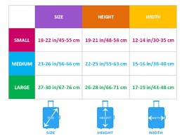 Cover Size Chart Luggage Covers Size Chart Your Amazing Design